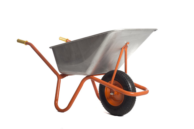 VICTOR WHEELBARROW 120L STEEL TUB